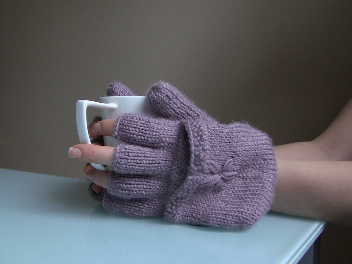 How to make fingers on gloves
